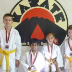 Wir sind stolze Medaillengewinner