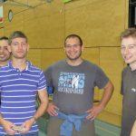 AM Mehdi Geiger, Roman Schumacher, Christian Rüttimann, Robert Zobec